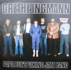 Papa Bue's Viking Jazz Band - LP / Grethe Ingmann / 1980