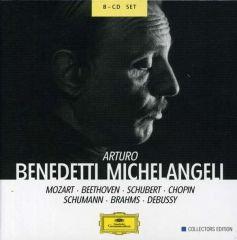 Mozart / Beethoven / Schubert / Chopin / Schumann / Brahms / Debussy - 8cd / Arturo Benedetti Michelangeli / 1990