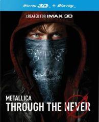 Through The Never - Blu-Ray+DVD (2D + 3D Blu-Ray) / Metallica / 2014