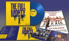 The Full Monty (Det' bare mænd) - LP (Blå vinyl) / Soundtrack   Various Artists / 1997 / 2017