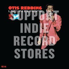 Live In Europe - LP (RSD 2017 Black Friday Rød vinyl) / Otis Redding / 1967 / 2017