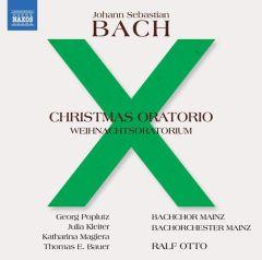 Christmas Oratorio, BWV 248 - 2CD / Johann Sebastian Bach | Ralf Otto | Bachchor Mainz / 2018