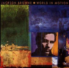 World in motion - LP / Jackson Browne / 1989