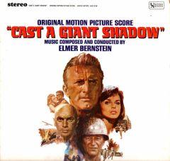 """Cast A Giant Shadow"" Original Motion Picture Score - LP / Elmer Bernstein / 1966"