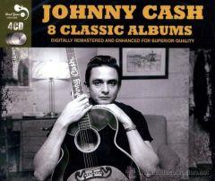 8 Classic Albums  4 CD / Johnny Cash / 2011