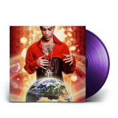 Planet Earth - LP (Lilla vinyl) / Prince / 2007 / 2019