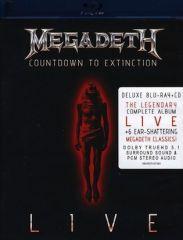 Countdown To Extinction / Live - 2bluray+cd / Megadeth / 2013