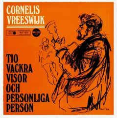 Tio Vackra Visor Och Personliga Person - LP / Cornelis Vreeswijk / 1968
