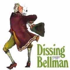 Dissing Synger Bellman - LP / Povl Dissing / 1991