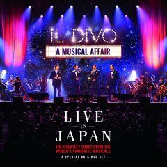 A Musical Affair / Live In Japan - cd+dvd / Il Divo / 2014