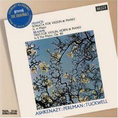 Sonata For Violin & Piano/Trio For Violin, Horn & Piano / Franck/Brahms / 1969/2007