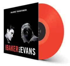 Alone Together - LP (Rød vinyl) / Chet Baker & Bill Evans / 1959 / 2019