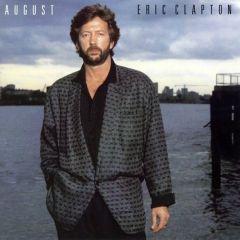 August - LP / Eric Clapton / 1986