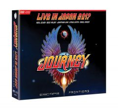 ESCAPE & FRONTIERS - LIVE IN JAPAN - 2CD+DVD / Journey / 2019