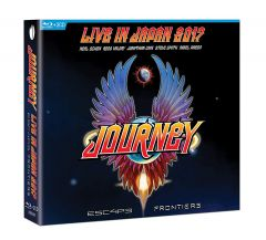ESCAPE & FRONTIERS - LIVE IN JAPAN - 2CD+Blu-Ray / Journey / 2019