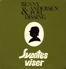 Svantes Viser - LP / Povl Dissing & Benny Andersen / 1973