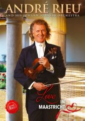Love In Maastricht - DVD / André Rieu (With Johann Strauss Orchestra) / 2019
