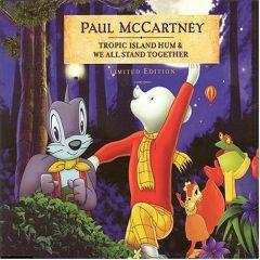 "Tropic Island Hum & We All Stand Together - 7"" (gul vinyl) / Paul Mccartney / 1984/2004"