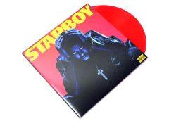 Starboy - 2LP (Rød vinyl) / The Weeknd / 2016 / 2017