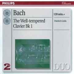 The Well Tempered Clavier Bk 1 - 2cd / Bach / 1995