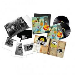 """Music From The Big Pink (50th Anniversary) - 2LP+CD+Blu-Ray+7"""" Vinyl (Deluxe Bokssæt) / The Band / 2018"""