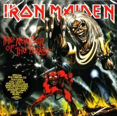 The Number Of The Beast - LP / Iron Maiden / 1982/2014