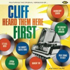 Cliff Heard Them Here First - cd / Various Artists   Cliff Richard / 2013
