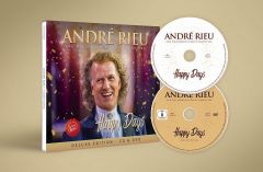Happy Days (Deluxe Edition) - CD+DVD / Andre Rieu / 2019