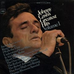 Greatest Hits Vol. 1 - LP / Johnny Cash / 1967