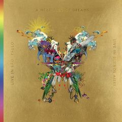 Live In Buenos Aires / Live In Sao Paulo / A Head Full Of Dreams - 3LP (Guld vinyl) + 2DVD / Coldplay / 2018