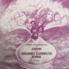 Spirit Orgaszmus - LP (farvet vinyl) / Jeronimo And Creedence Clearwater Revival  / 1970
