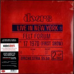 Live In New York - Felt Forum, Januar 17.1970 (First Show) - 2LP / The Doors / 2010