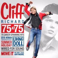 75 At 75 - 3cd / Cliff Richard / 2015