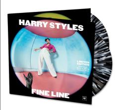 Fine Line - 2LP (Sort-hvid splattervinyl) / Harry Styles / 2019
