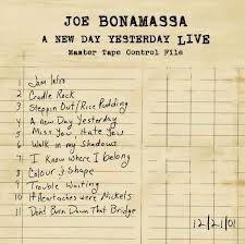 A New Day Yesterday / Live - 2LP / Joe Bonamassa / 2012
