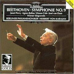 Symphonie No.9 / Herbert Von Karajan - cd / Beethoven / 1984
