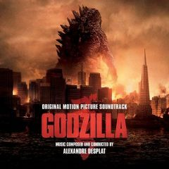 Godzilla -2LP / Alexandre Desplat   Soundtrack / 2014