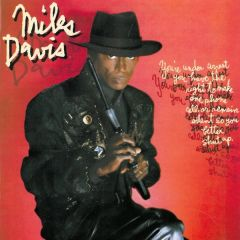 You're under arrest - LP / Miles Davis / 1985