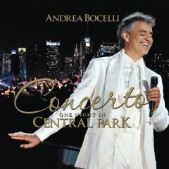 Concerto - One Night In Central Park - cd / Andrea Bocelli / 2011