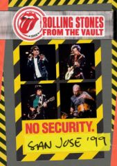 From the Vault: No Security - San Jose '99 - DVD / The Rolling Stones / 2018