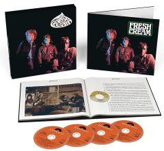 Fresh Cream - 3CD+Blu-Ray / Cream / 1966 / 2017