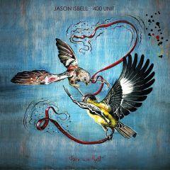 Here We Rest - LP (Blå vinyl) / Jason Isbell And The 400 Unit  / 2011 / 2019