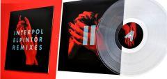 El Pintor Remixes - LP (RSD 2016 Klar vinyl) / Interpol / 2015/2016