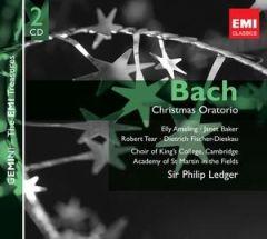 Christmas Oratorio - 2CD / Bach   Sir Philip Ledger / 1977 / 2008