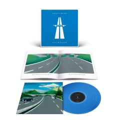 Autobahn - LP (Farvet vinyl) / Kraftwerk / 1974 / 2020