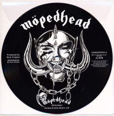 """Möpedhead - 7"""" Vinyl (Picture disc) / Möpedhead / 2018"""