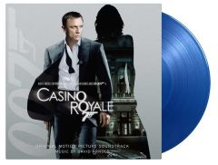 James Bond Casino Royale - LP (Blå vinyl) / Soundtrack | David Arnold / 2006 / 2020