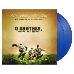 O Brother, Where Art Thou - 2LP (Blå vinyl)  / Soundtrack   Various Artists / 2000 / 2018
