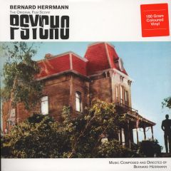 Psycho (The Original Film Score) - LP (Rød Vinyl) / Bernard Herrmann / 1976 / 2015