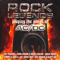 Rock Legends Playing The Songs Of AC/DC - 2LP / Various Artists | AC/DC Tribute / 2013
